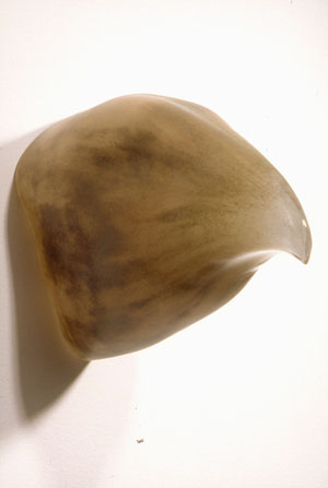 """""""Large Scale,"""" 2000 Blown glass 9 x 6 x 11 inches"""