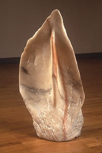 """Laura,"" 1989 Marble 25 x 15 x 8 inches"