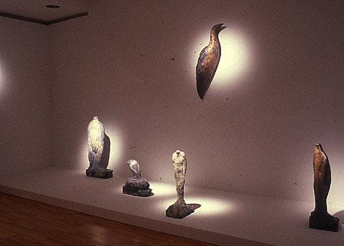 """Oak Island Studies"" at Grace Borgenicht Gallery, New York, 1988"