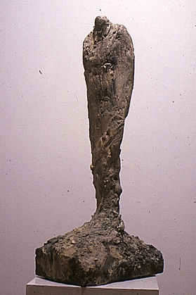 """Father (For Mel),"" 1987 Mixed media 24 x 6 x 4 inches"