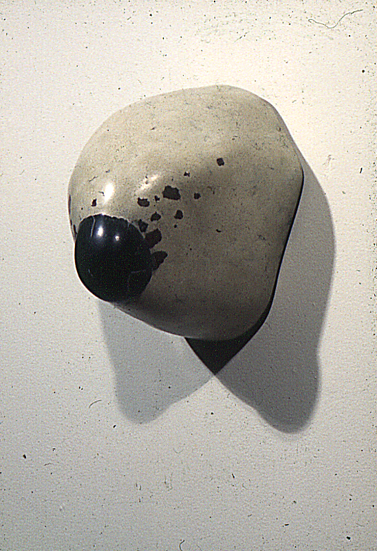 """Rook,"" 1977 Mixed media 19 x 15 x 16 inches"