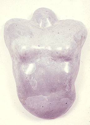 """Grey Female,"" 1979 Mixed media 26 x 20 x 8 inches"