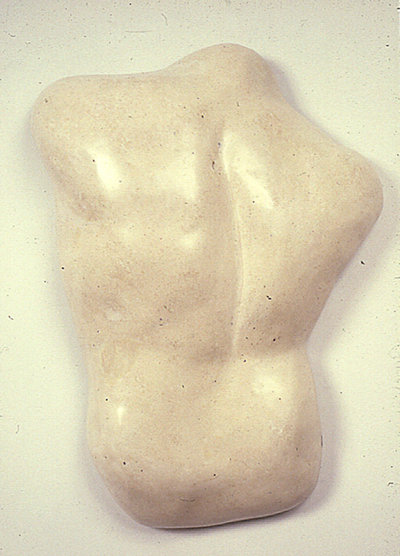 """Ivory Back,"" 1980 Mixed media 29 x 21 x 7 inches"