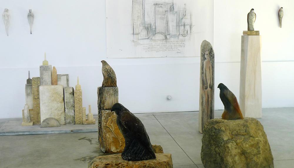 Morandi Studio Installation, 2013