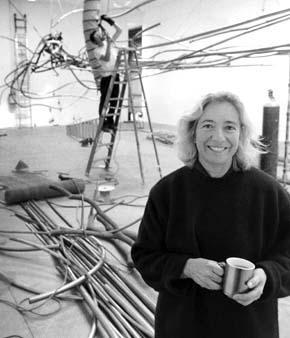 Interview: Judy Pfaff: The Interior Landscape - Interview by Richard WhittakerWorks & Conversations, August 1995