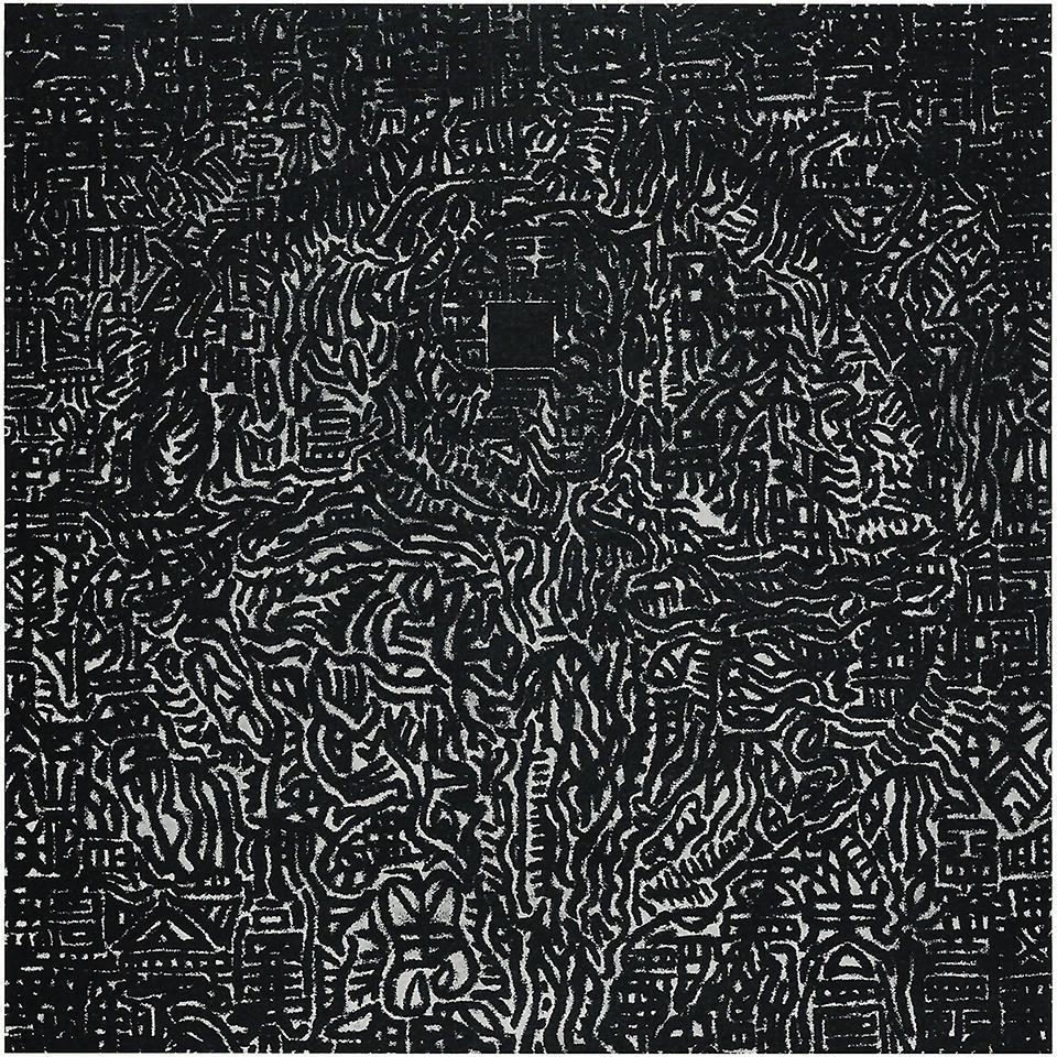 """Joan Witek """"Autorretrato,"""" 1999, 32 x 32 in (80 x 80 cm)"""