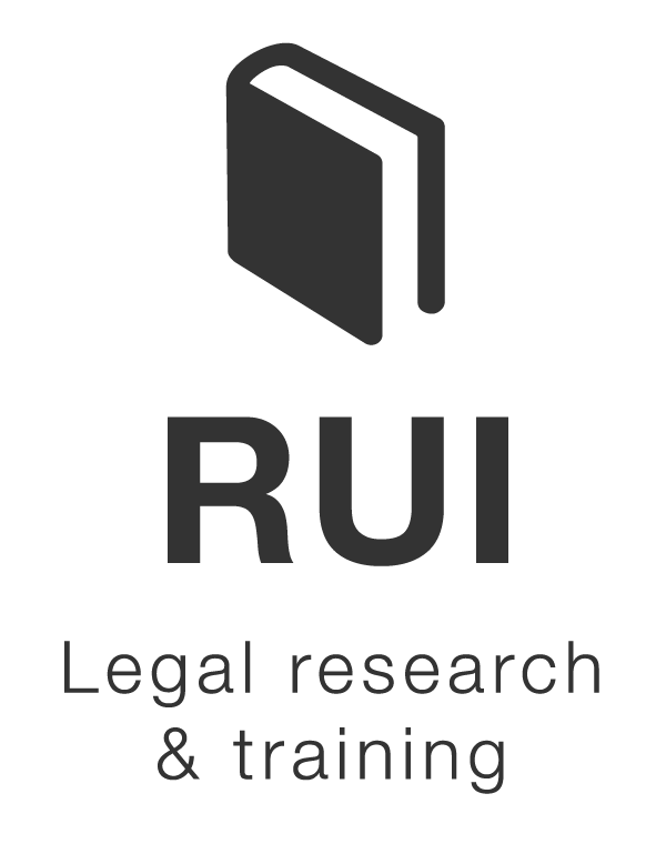 RUI LEGAL RESEARCH & TRAINING