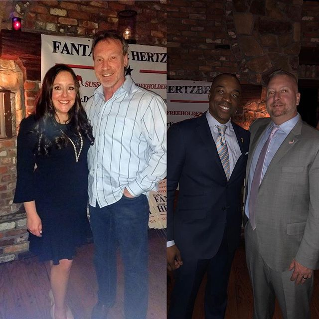 Fantasia & Hertzberg Campaign Kickoff! #sussexcountynj #republicanstrong #election2018 #thankyou #family #friends