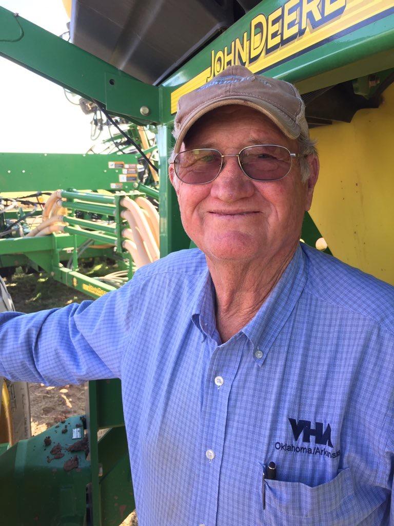 Bob Howard, Oklahoma wheat grower, Jackson County