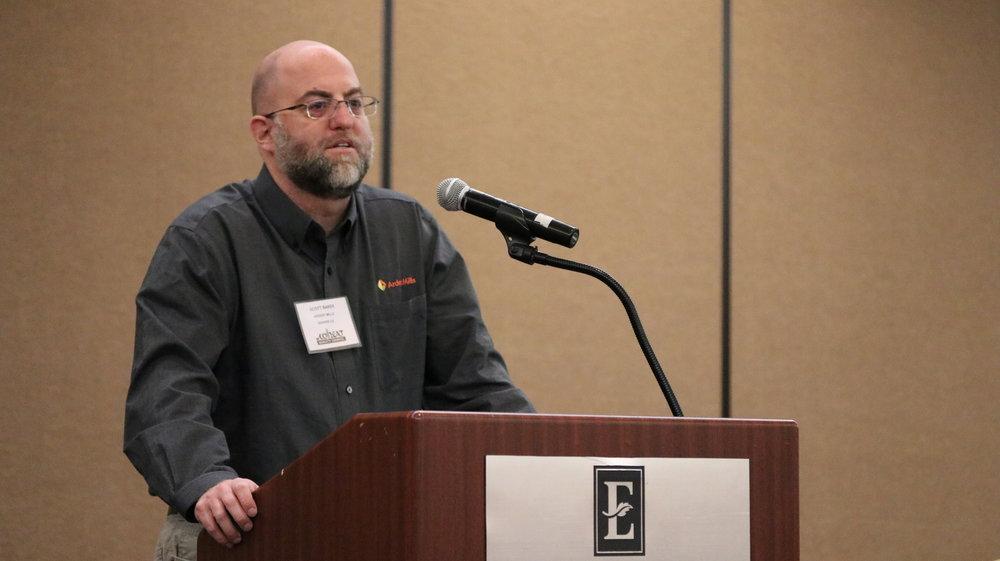 Scott Baker, Ardent Mills, Denver, CO.