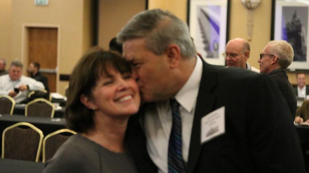 (L-R) Nancy & Dave Green, Wheat Quality Council