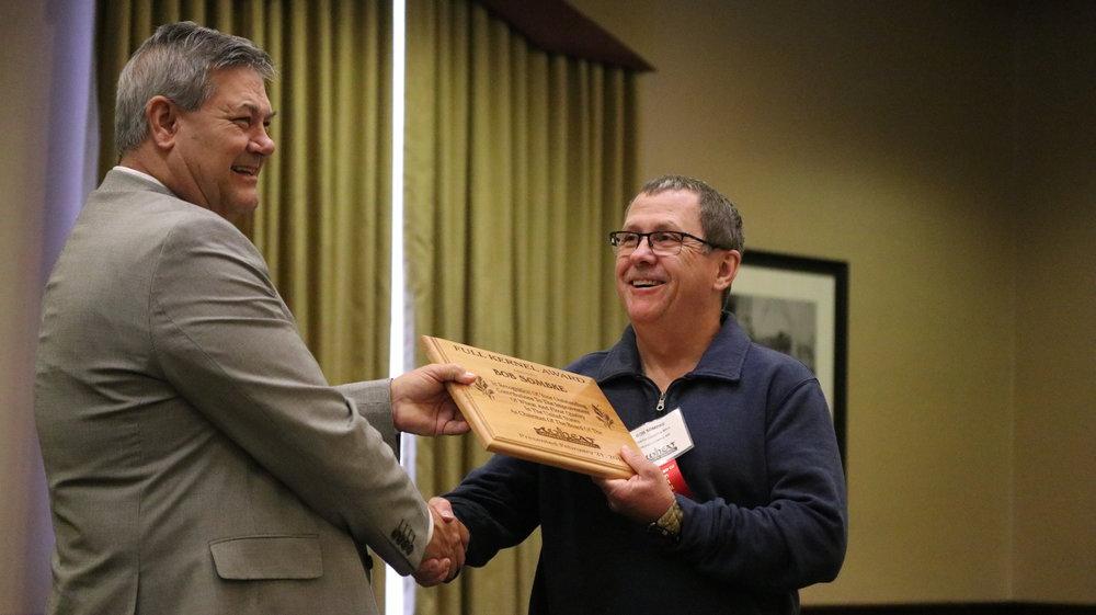(L-R) Dave Green, Wheat Quality Council & Bob Sombke, North Dakota Mill