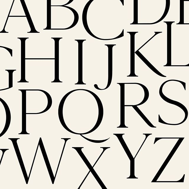 I'd like to start a little tradition of Typeface Tuesdays, where I share some of my favorite fonts once a week. This week's edition features Cammron, a versatile thin serif typeface that's one of my favorites for brand identity projects.