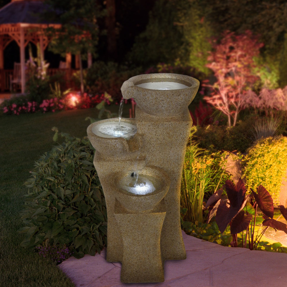 Lighted Bowl Fountain