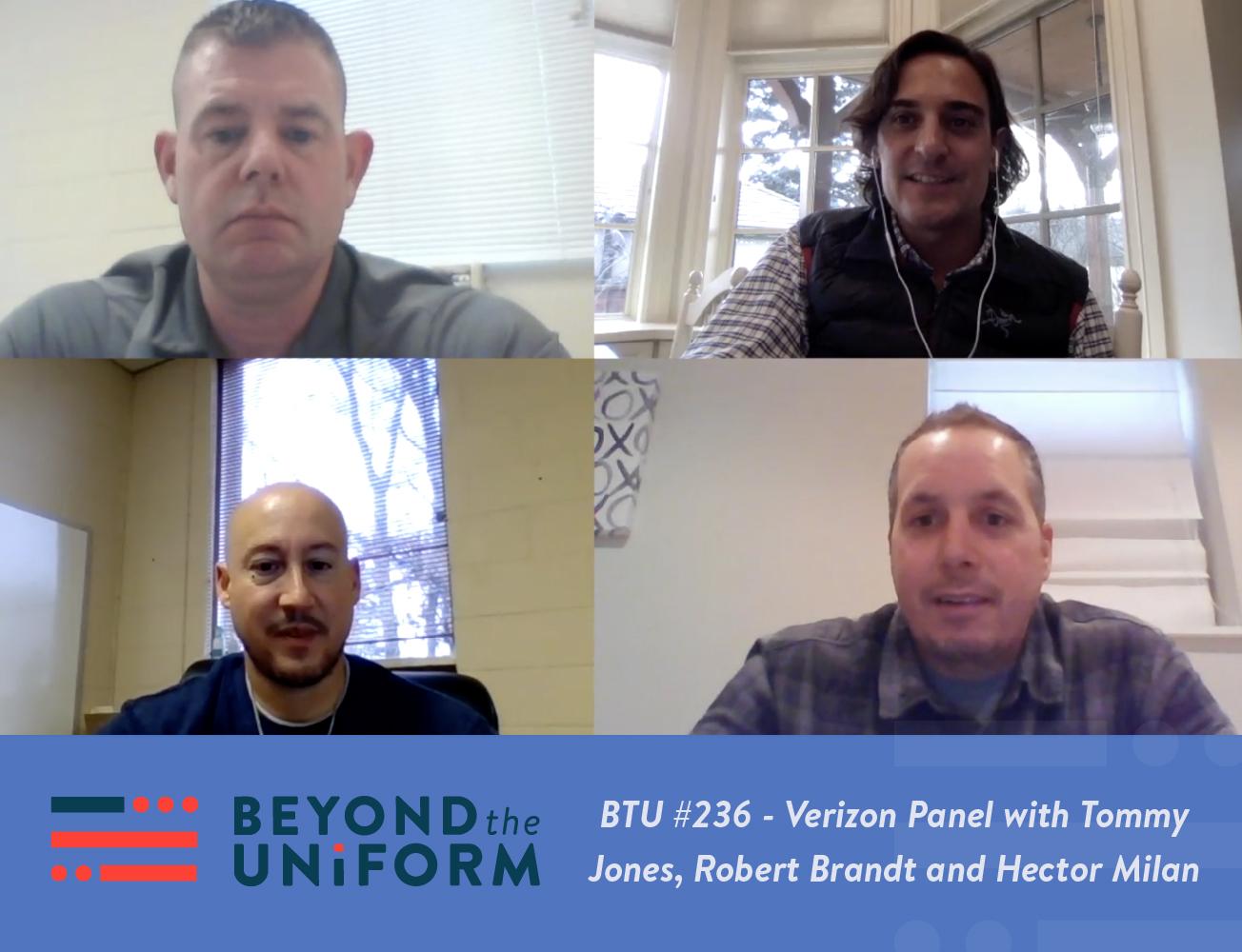 BTU #236 - Verizon Panel with Tommy Jones, Robert Brandt and