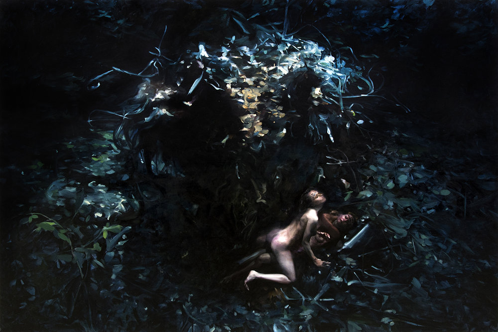 FEMINA ACCABADORA (diptych)