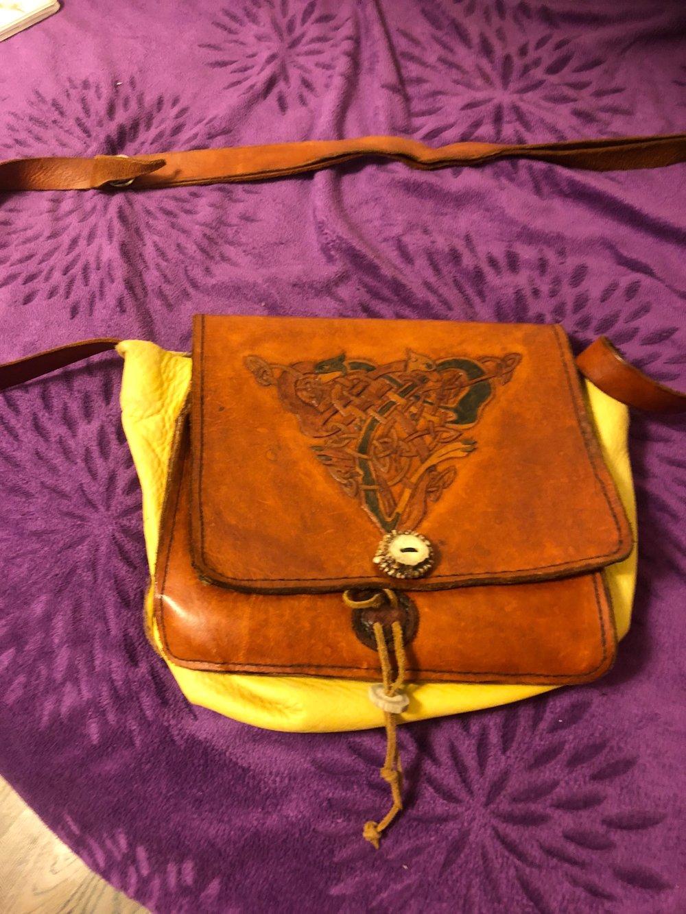 Leather Pilgrams Bag