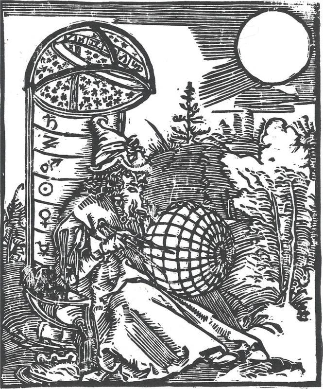 The Astronomer (Block print)