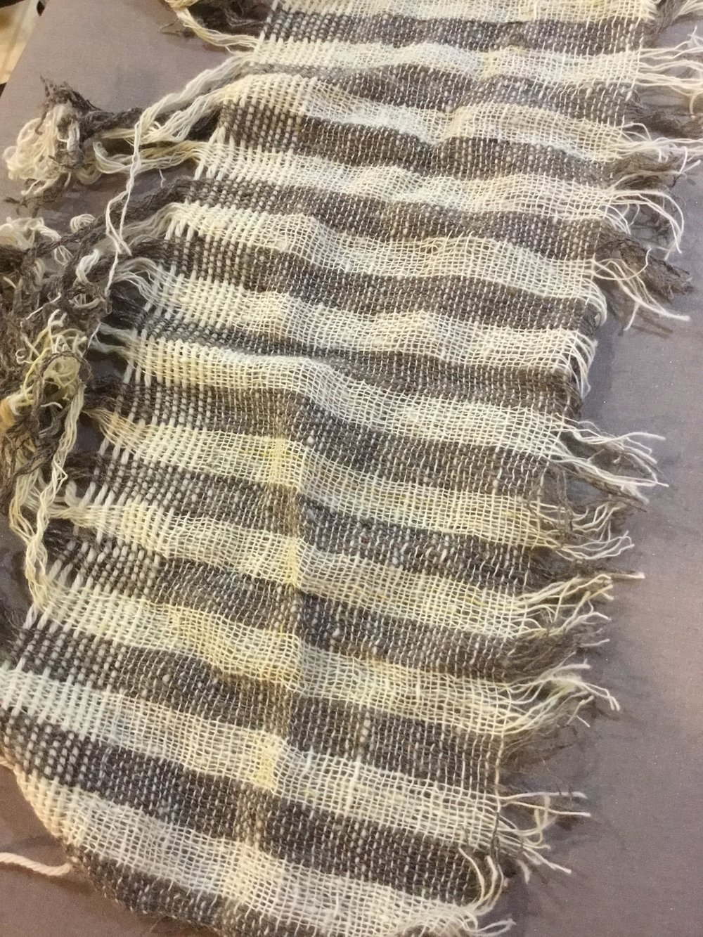 Woven Striped Pants
