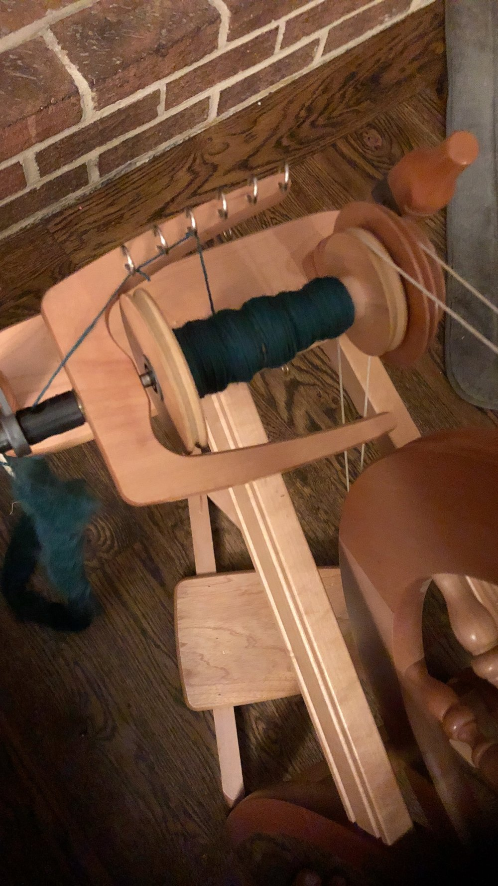 Spinning the Roving