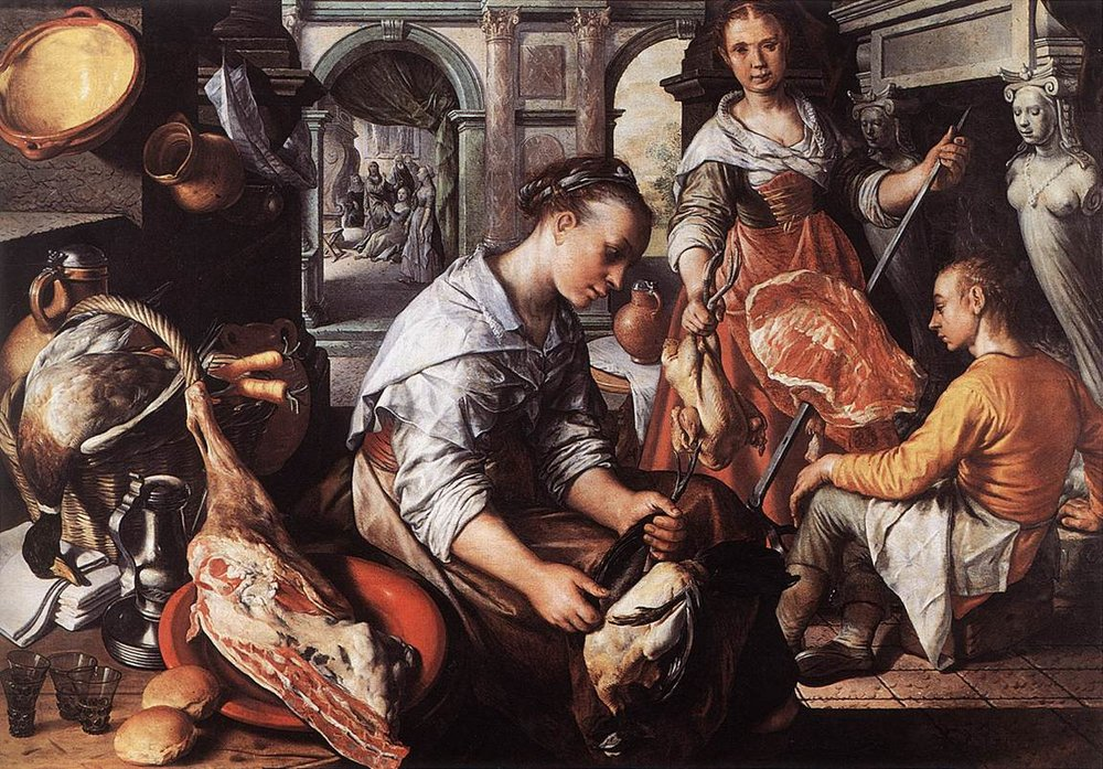 Joachim Beuckelaer--Christ in the House of Martha and Mary.1565 (1).jpg