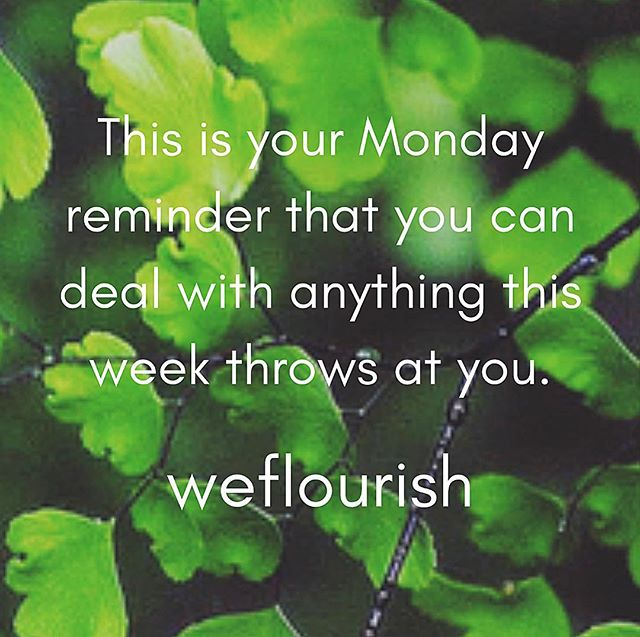 Carpe diem and all that 🏋🏻‍♀️ #seizetheday #mondaymotivation #weflourish