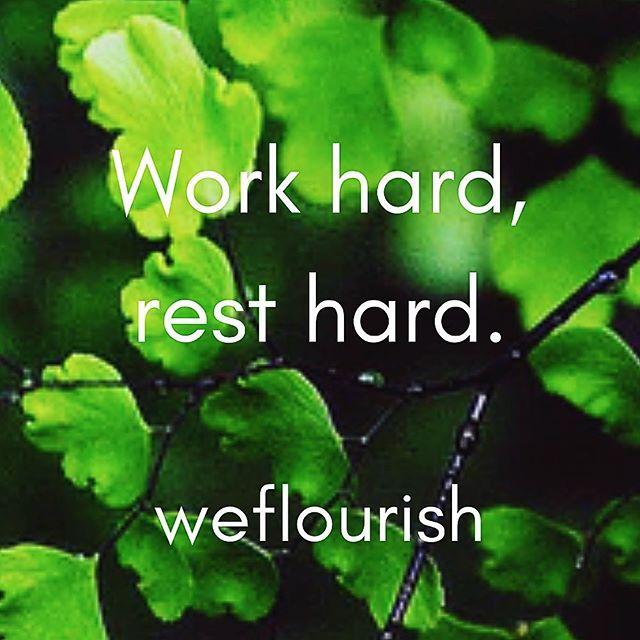 Enjoy the break! 💫 #workhardresthard #tlc #weflourish
