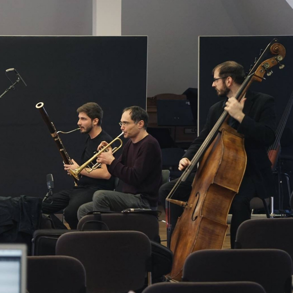 MEMBERS OF ENSEMBLE MODERN