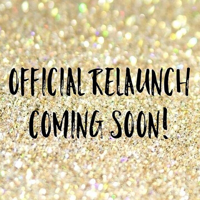 Excited to announce our official relaunch is happening soon! Follow along for updates!  #weddingblog #weddingwebsite #relaunch #comingsoon #wedding #weddings #engagement #engagements #styledshoot
