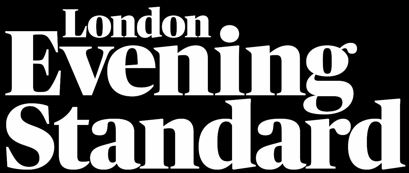 Image result for evening standard logo white