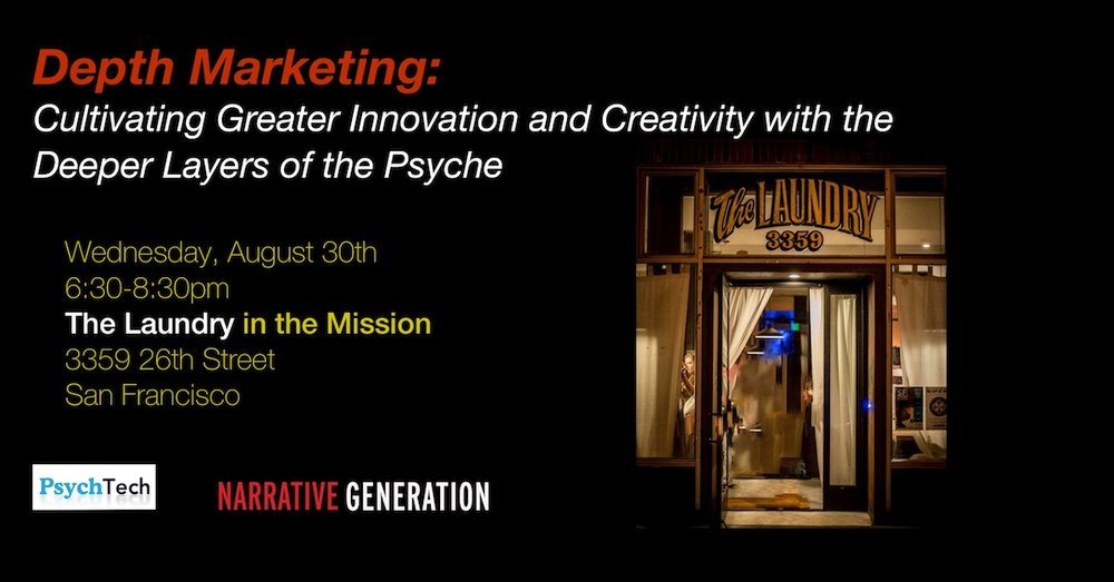 DEPTH MARKETING: CULTIVATING GREATER INNOVATION AND CREATIVITY WITH THE DEEPER LAYERS OF THE PSYCHE