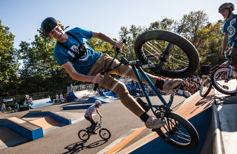 Events and Competitions - 11TH ANNUAL FREE FALL EVENT COMING SEPTEMBER 28, 2019, 12-5 P.M.FREE Skateboard, BMX Biking, Extreme Scooter, and Basketball events throughout the summer...Learn more ➝