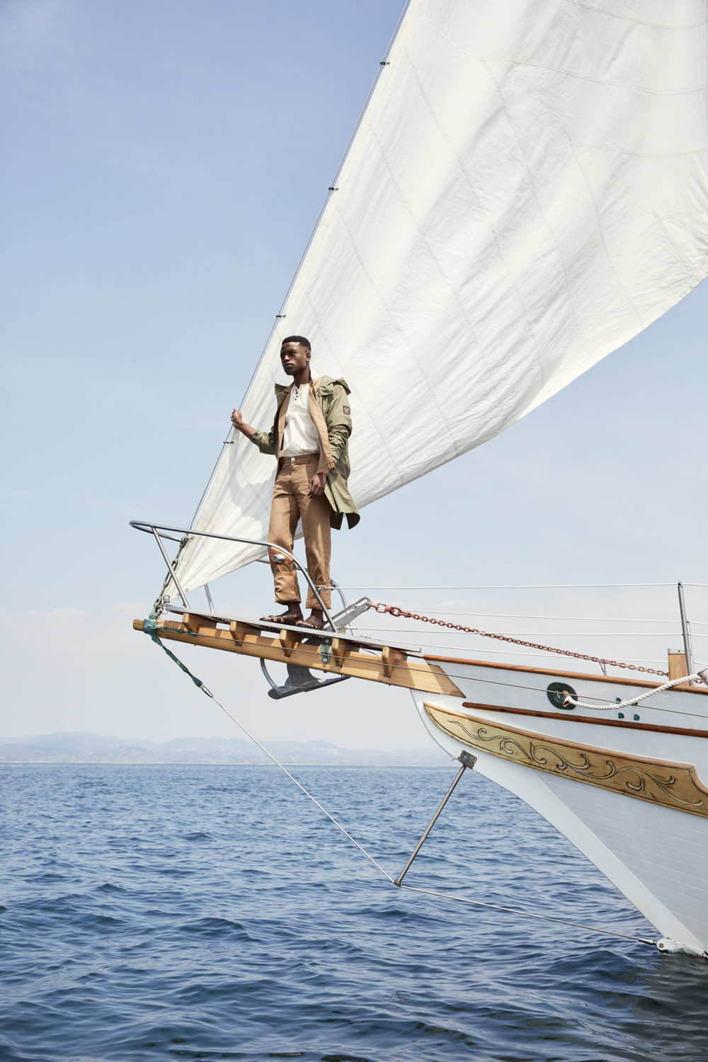 Man and the Sea - photography by WILLIAMS + HIRAKAWAstyling by MARK HOLMES