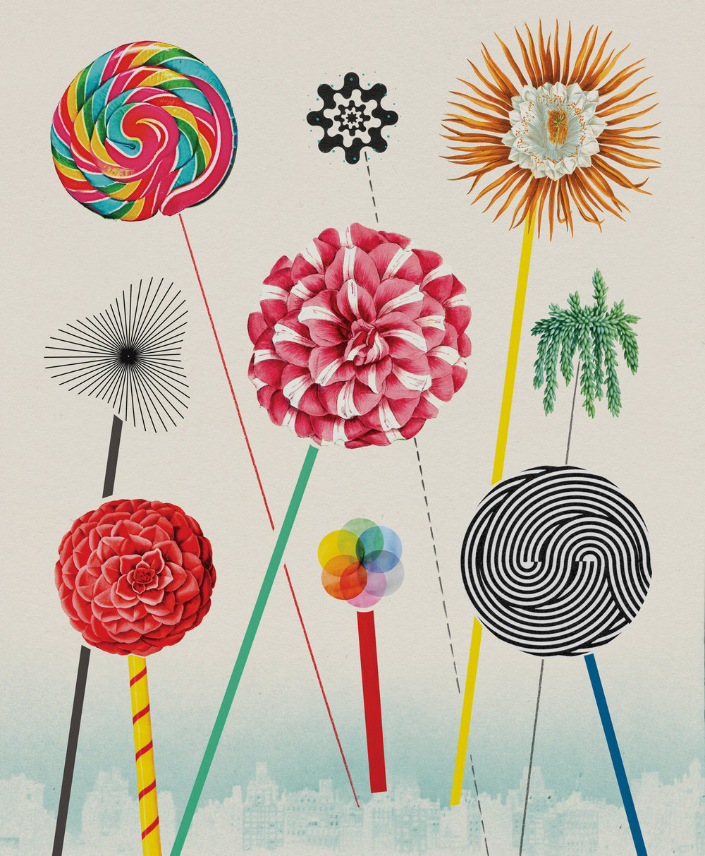 Things to Celebrate - illustration by VALERO DOVAL.