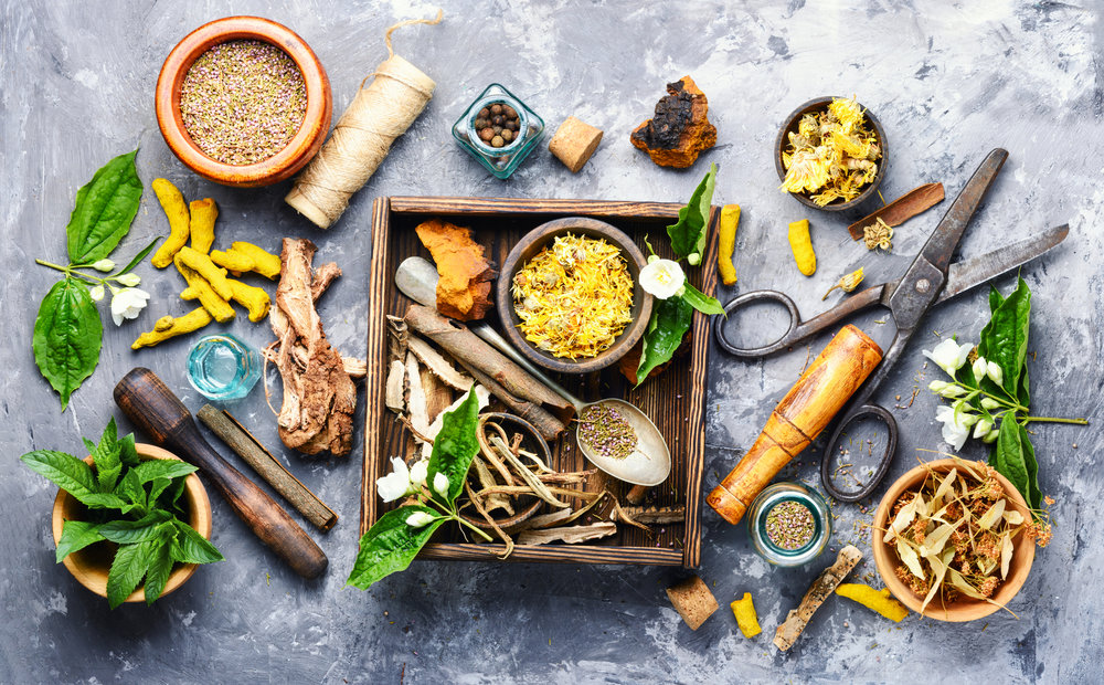 Besides infusing nature and ayurvedic methods into our Wellness Spa treatments, we also formulate herbal products for our clients. Whether you need a protein that meets certain diet requirements, or have a bothersome ailment that conventional medicine has failed... our herbalists are skilled at plant medicine. Call us and we can do a phone consultation for you and make custom Herbal Blends.