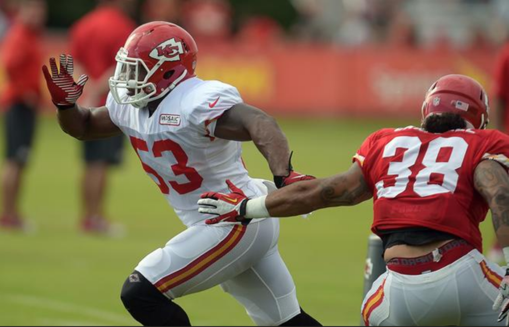 Joe Mays played for the Chiefs in 2014. An 8 year NFL veteran, who is dedicated to spreading knowledge to youth athletes so that they learn at a young age how to take care of their best asset and treat their bodies well so they don't end up with a lifetime of pain.