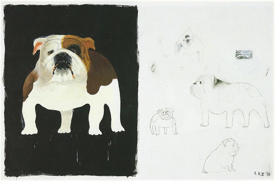 Bull Dog Spotted (Aggressive Goodness Series), 2002