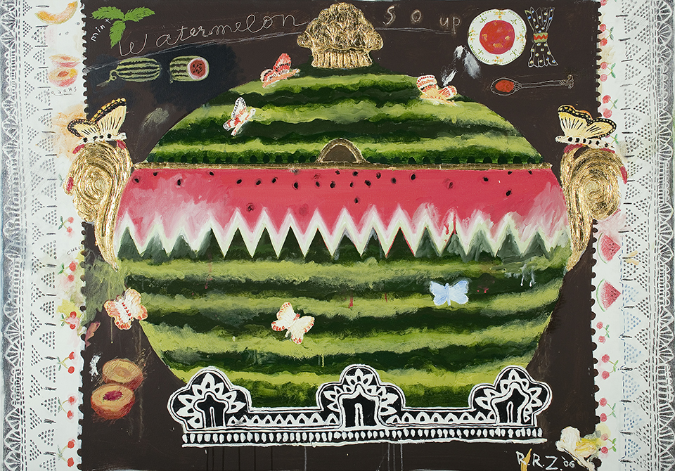 Watermelon Soup (Butterflies), 2006