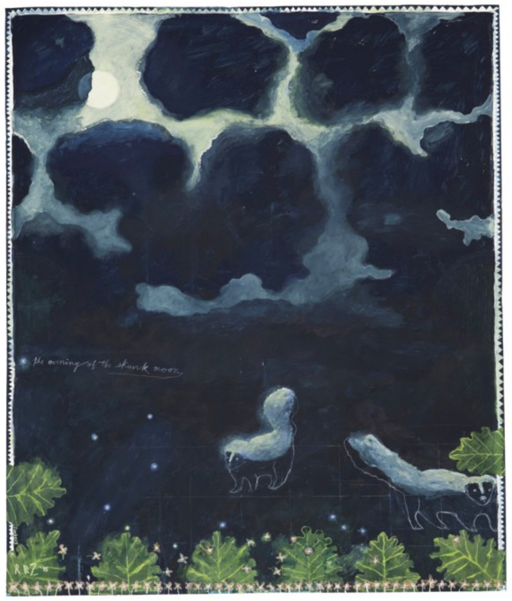 The Evening of the Skunk Moon, 2015