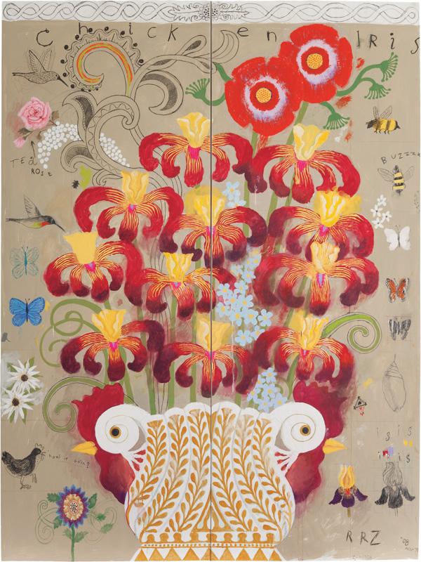 Chicken Iris, 2008