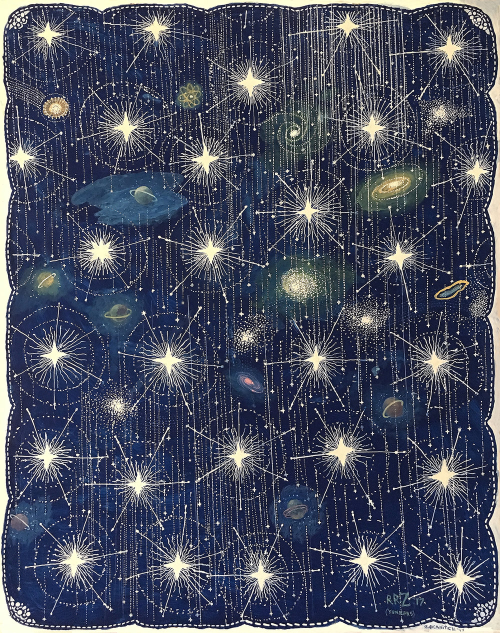 Star Shower (Celestial Series), 2017