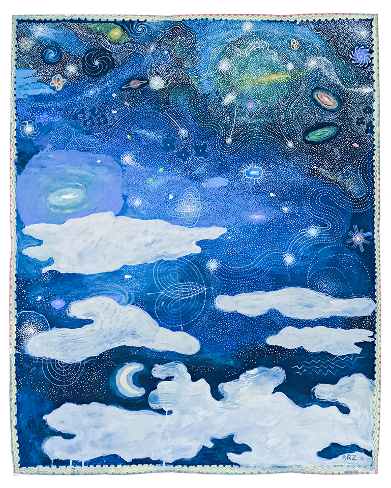 Untitled (Celestial Series), 2016-17