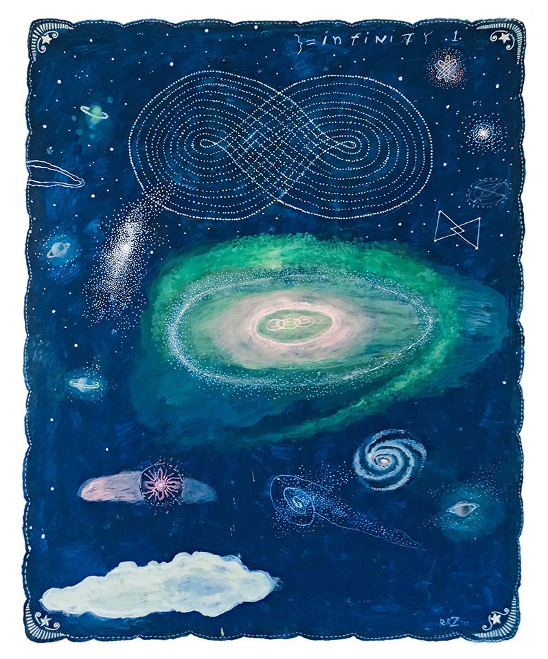 Infinity I (Celestial Series), 2017