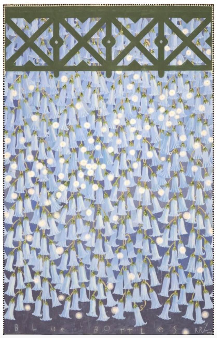 Hanging Gardens Series (Blue Bottles), 2011-12
