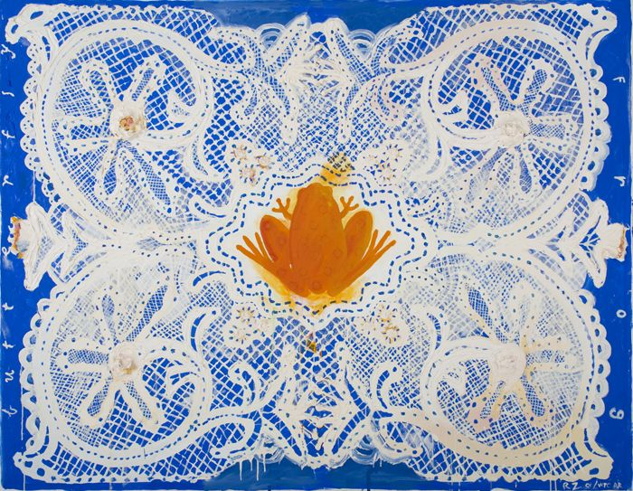 Butterfly Frog (Lace Series), 2001
