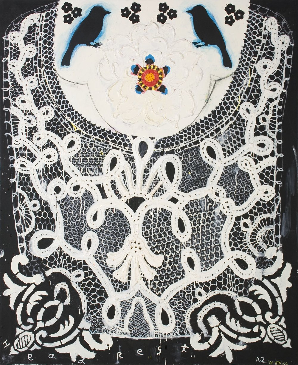 Head Rest (Lace Series), 2001
