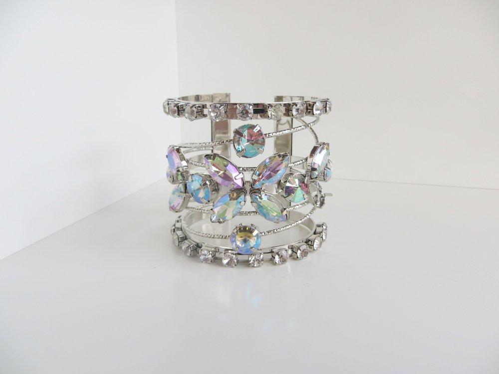HOLYLOVE 3 Colour Cuff Bracelet Sliver for Women, Adjustable Open Bangle | Mattea Henderson