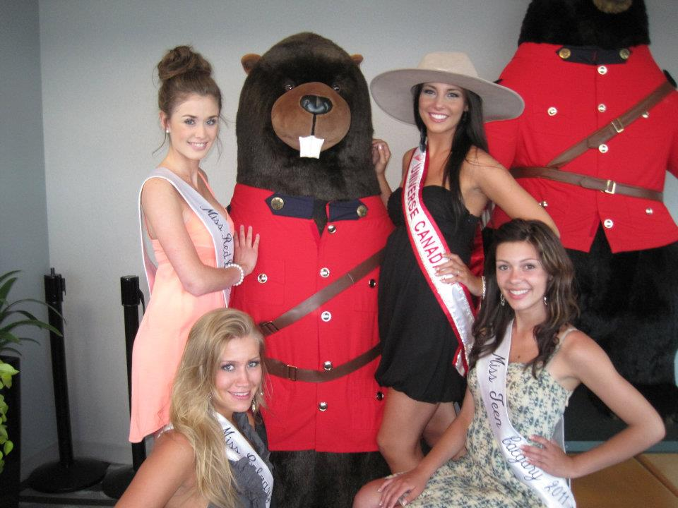 CALGARY STAMPEDE EVENT AS MISS TEEN CALGARY 2011