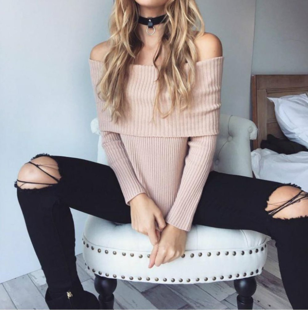 Sensei Off Shoulder Jumper - $55.96 CAD