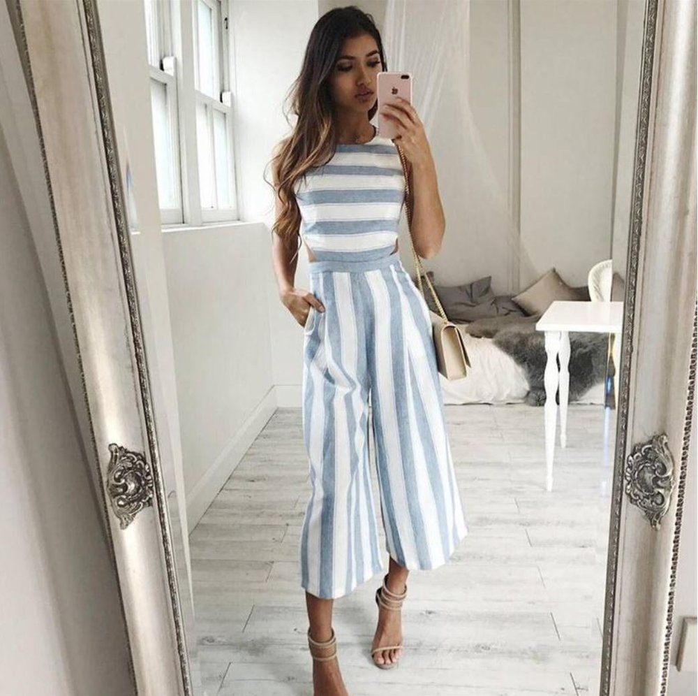 Strip Stripe Winter Chills Jumpsuit - $55.96 CAD
